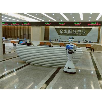 """广州力麒政务服务机器人正式""""入职""""河源市高新区政务大厅"""